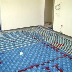 Σύστημα ενδοδαπέδιας θέρμανσης σε 2 οροφοδιαμερίσματα