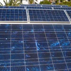 Φωτογραφία από το Φωτοβολταϊκό πάρκο 7,7 kW στη Λίνδο Ρόδου
