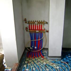 Ενδοδαπέδιο σύστημα θέρμανσης δροσισμού με Α.Θ. Estia