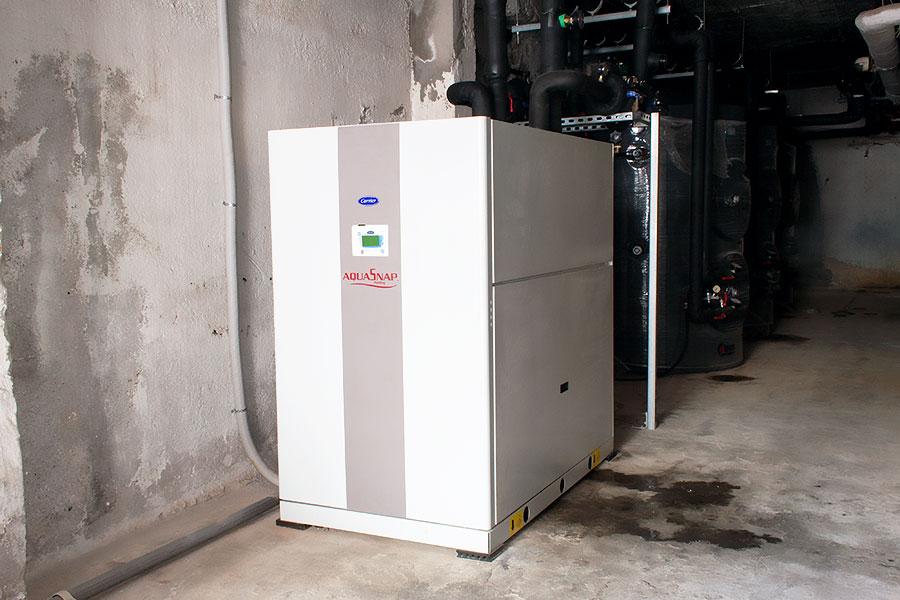 Υδρόψυκτη αντλία θερμότητας Carrier 61WG