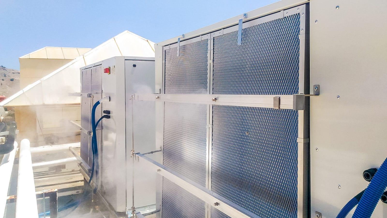Smart Cooling System Lindos Royal
